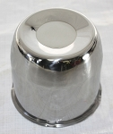 4.25 in Stainless Steel Closed End Center Cap for Trailer Rims