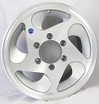 15 x 6 HiSpec Series05 Aluminum Trailer Wheel 6 Lug