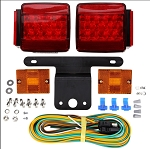 LED Universal Trailer Lighting Kit by Truck LIte #5051DK