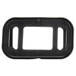Truck-Lite OPEN BACK, BLACK PVC, GROMMET FOR 15 SERIES AND 1.5 X 3 IN. LIGHTS, RECTANGULAR