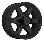 14x5.5 T08 Grinder Black Machined Trailer Wheel 5x4.50 T08-45545MB
