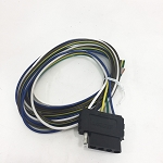 5-Flat Vehicle End, 72 inch Wiring Harness #002309