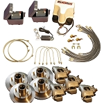 Titan Disc Brake Kit and BrakeRite Electric-Hydraulic Actuator - Tandem, 3,500-lb Axle #4843800