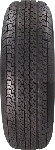 ST225/75R15 Tow-Master Special radial Trailer Tire Load Range E 2,830 Lb Capacity