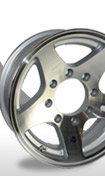 Aluminum and Steel Trailer Wheels