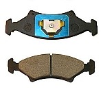 UFP DB-35 Disc Brake Pad Complete Wheel Set #33008/33009