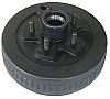 UFP 10 x 2 1/4 in Trailer Brake Drum & Hub 5 on 4 1/2 in 3500 lb #41048