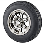Trailer Wheel & Tire Assembly