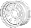 15 inch WINDOW Steel Chrome Trailer Wheel 5 on 4.50