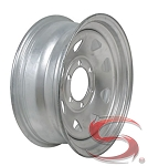 16 x 6 Galvanized Spoke Trailer Wheel, 6 on 5.50, 3760 lb Capacity