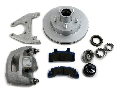 "3.5K Premier Disc Brake Kit, 10"" End Kit with BP K71-890-00"