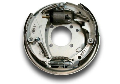 Titan Galvanized 10 in Marine Brake Assembly, Free Backing, Left Hand #4522900