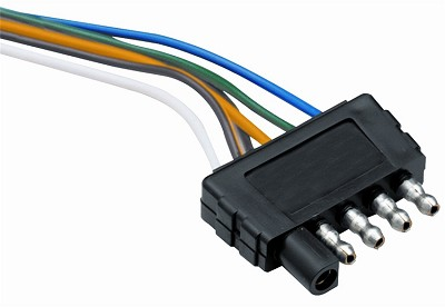 "Tow Ready 48"" 5-Flat Trailer End Wiring Harness #118017"