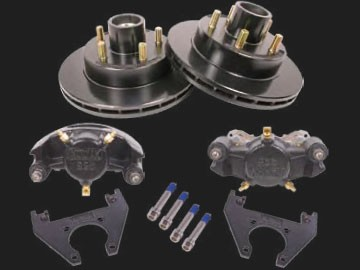 12 inch Kodiak Disc Brake (Complete 1 Axle Kit) mounting hardware incl. #2/HRCM-12-E-KIT