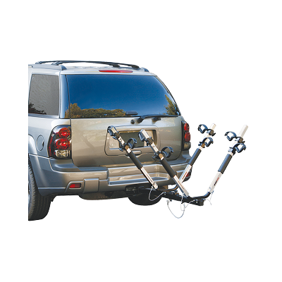 "Highland SportWing Aluminum Bike Carrier, 4 Bike, 2"" Sq. Receiver Mount #1370400"
