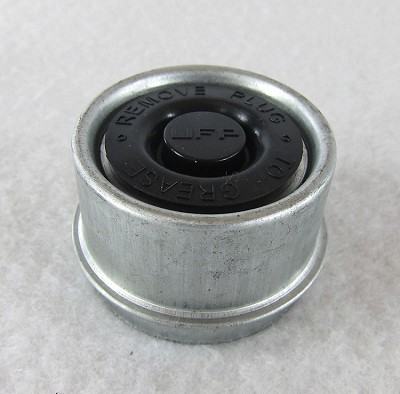 "1.980"" EZ-Lube Bearing Zinc Plated Grease/Dust Cap & Plug"