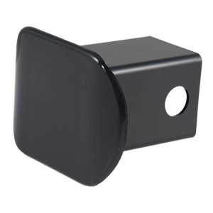 CURT Plastic Hitch Receiver Tube Cover Black Powder Coated #22180