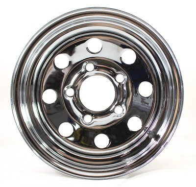 12 x 4 Chrome Modular Trailer Wheel 5x4.5 2824012-92191