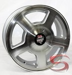 14 x 5.5 Ranger Road Armor Aluminum S99 Boat Trailer Wheel & Closed Cap