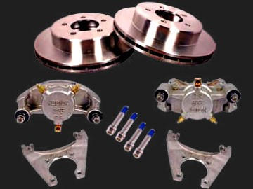 10 inch Kodiak Stainless Steel Slip Over Disc Brake Conversion Kit 5 on 4.5 #2/RCM-10-SS-KIT