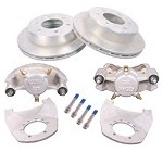 Kodiak Disc Brake Kit 12 in Rotor, 6 on 5-1/2 in, Dacromet (DAC) 5,200 lb to 6,000 lb
