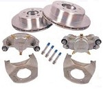 Kodiak Disc Brake Kit 12 in Rotor, 6 on 5-1/2 in, Dacromet (DAC) & Stainless Steel (SS) 5,200 lb to 6,000 lb