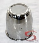 3.10 in Stainless Steel Closed End Center Cap for Trailer Wheels