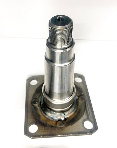 "UFP Trailer Axle Spindle #33681, Tapered for 1-3/8"" x 1-1/16"" Bearings, 2900-3750 lb Axles"