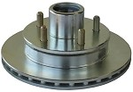 Disc Brake UFP Trailer Rotor, DB-35 - 5 on 4.5 in, 4200 lb (straight spindle) #36248