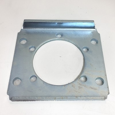 UFP 12 inch S-Cad Plated Disc Brake Caliper Adapter Plate - Brake Flange Adapter Plate #37110