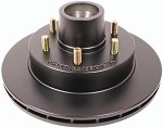 UFP DB-35 Hub/Rotor Assembly 5200 lb, 6 lug, Ecoated #44214