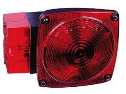 Wesbar Submersible Over 80 in 8-Function Tail Light, Left Hand/Roadside #2423008