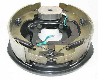 "10"" x 2-1/4"" Left Hand Complete Electric Brake Assembly"