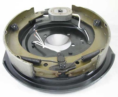 "12"" x 2"" Left Hand Complete Electric Brake Assembly 5200-7000 lb"