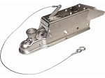 Titan Model 60 Multi-Fit Trailer Coupler with Solenoid and Lockout Shield Cover 47457207K