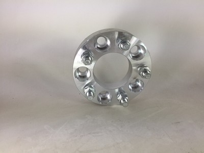 "Billet adapters manufactured with 6061 T6 grade billet aluminum for superior strength and hardness. 1"" wheel spacer"