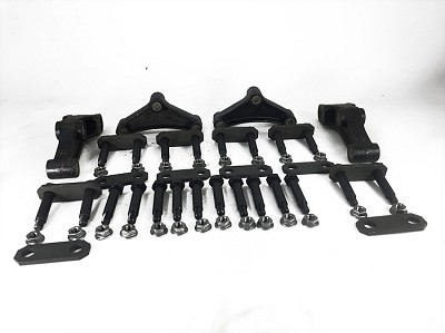 Triple Axle Attaching Parts Suspension Kit (33 inch Axle Spacing) #A/P-335-00