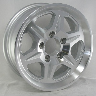 15 x 6 T04 Aluminum Trailer Wheel 5 on 4.50