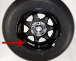 Balance Trailer Wheel and Tire Assembly