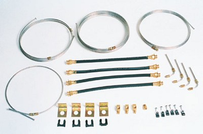 20' Tandem, Torsion Axle Brake Line Kit