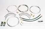 20' Tandem Axle Brake Line Kit