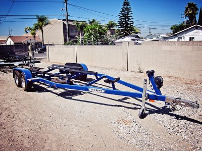 Used 2005 Extreme Boat Trailer will accommodate 21 ft Ultra Boat