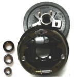 10 inch hydraulic drum brake AND backing plate assembly