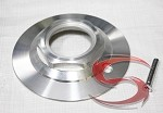 Type 79 Ghostrider Aluminum Billet Trailer Wheel Center Cap