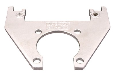 "Kodiak Caliper Mounting Bracket for 10"" Rotor/Hub (Integral) Dacromet (DAC) #CMB-10-I-DAC"