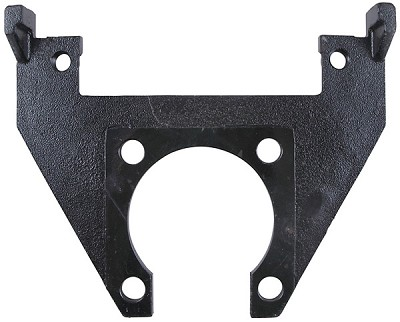 "Kodiak Caliper Mounting Bracket for 10"" Rotor/Hub (Integral) E-Coated #CMB-10-I"