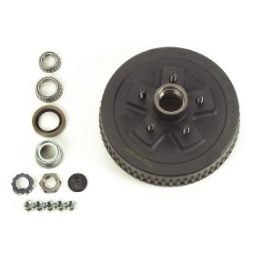 Dexter Axle Hub and Drum Kit (K08-247-94)  For 3,500 lb. axle, 5 on 4.50 w/EZ Lube Cap