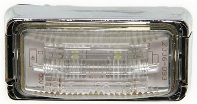 Mini LED License Plate Light - Clear  #LPL91CB