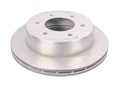 "Kodiak Disc Brake Cap Style 12"" Rotor KODIAK #ROTOR/12-DAC Dacroment-Coated fits 6-Lug hubs on 5.5"" bolt pattern."