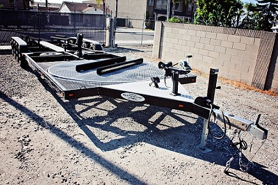 Used Shadow Boat/PWC Combo Dealer Trailer will accommodate 19-21 ft Boat & One Toy